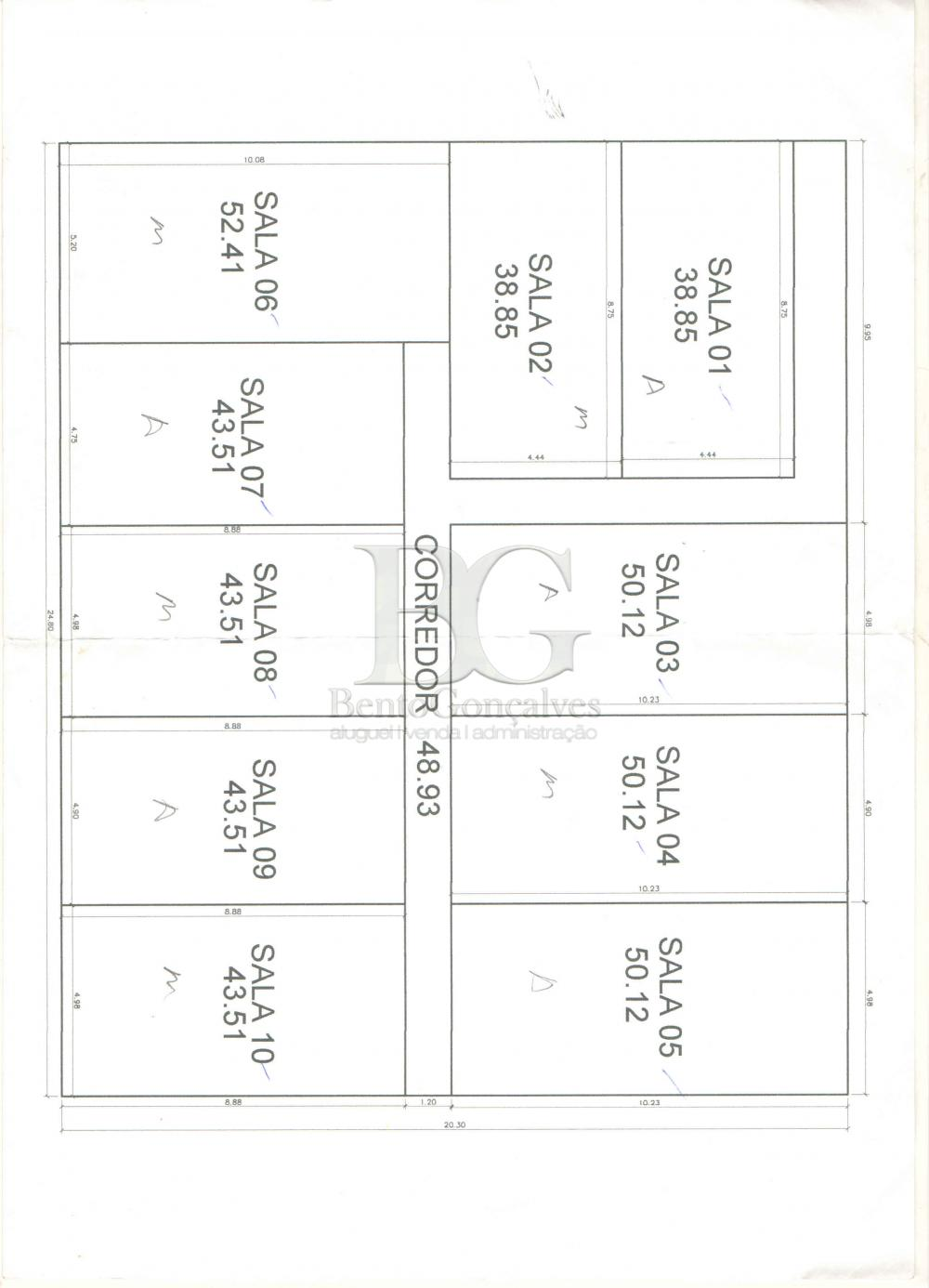 Alugar Comercial / Sala Comercial em Poços de Caldas apenas R$ 1.300,00 - Foto 6