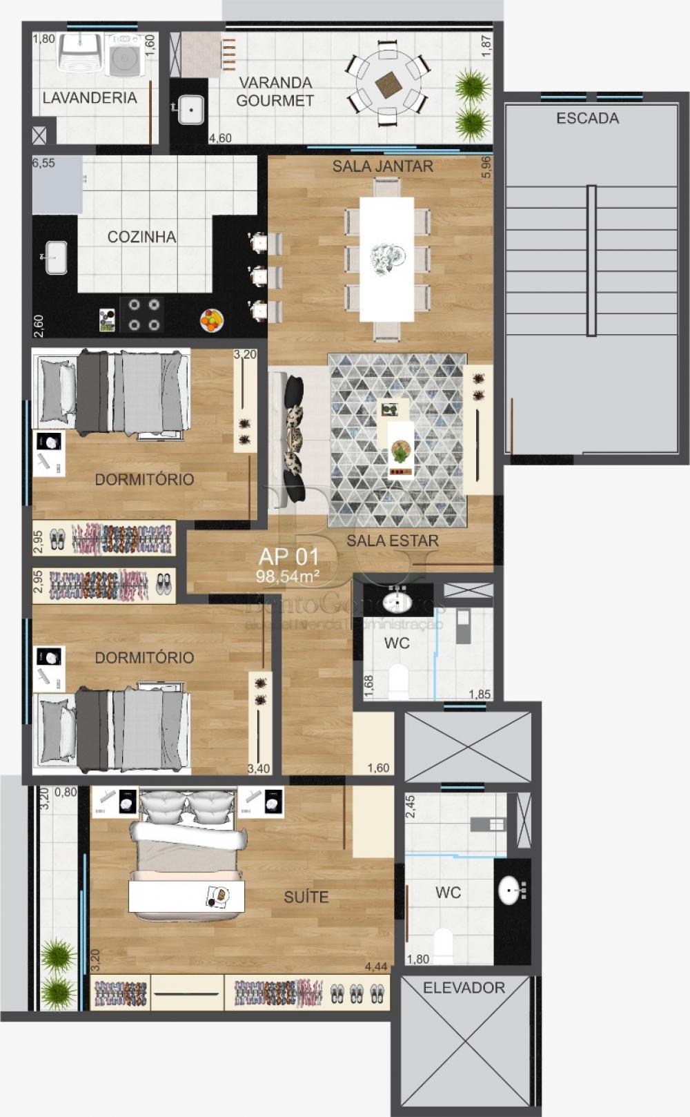 Comprar Apartamentos / Padrão em Poços de Caldas apenas R$ 377.000,00 - Foto 12