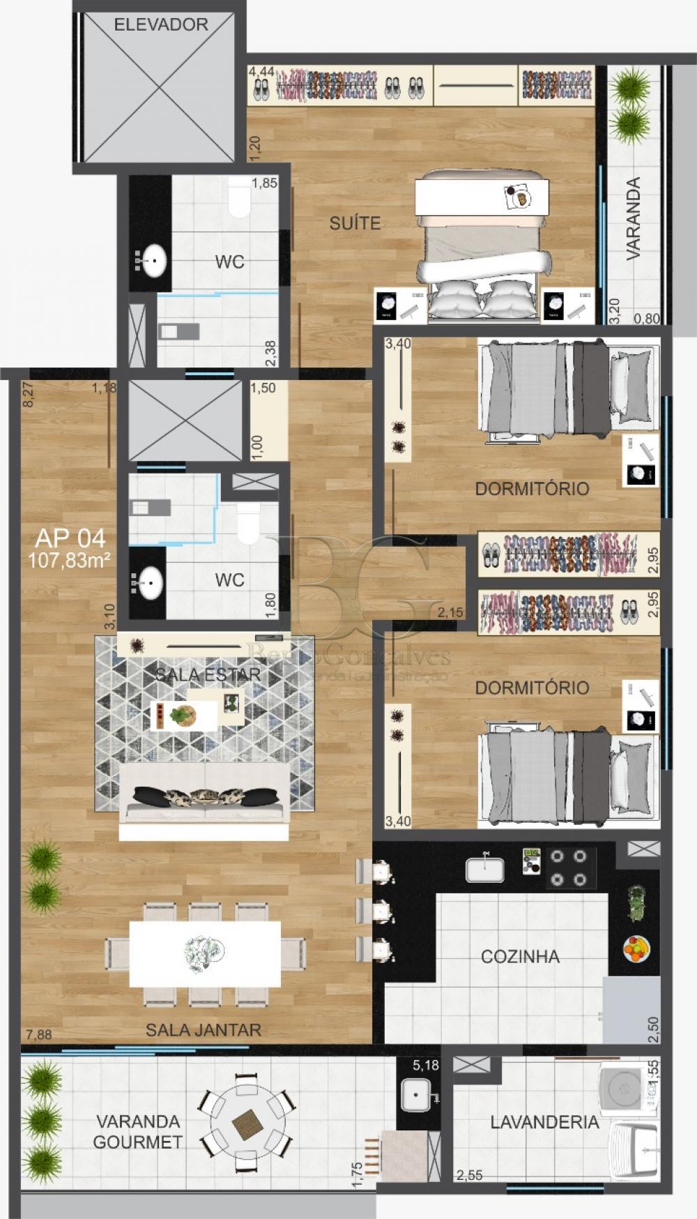 Comprar Apartamentos / Padrão em Poços de Caldas apenas R$ 377.000,00 - Foto 9