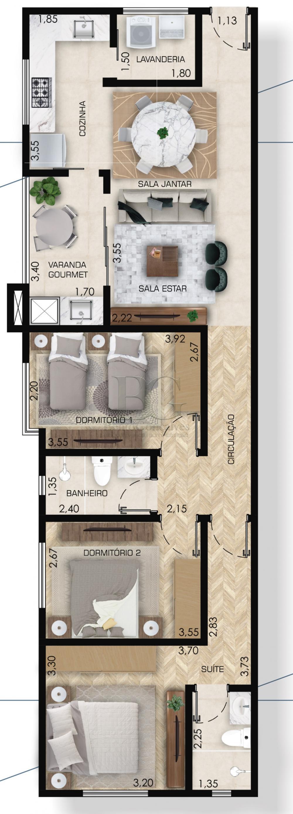 Comprar Apartamentos / Padrão em Poços de Caldas apenas R$ 374.000,00 - Foto 6